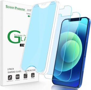 picture of iPhone 12/12Pro Tempered Glass Screen Protector, 2-pk, Sale