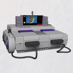 picture of Super Nintendo Entertainment System Console Ornament w/ Light & Sound
