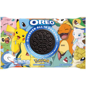 picture of Expiring Today: Oreo Pokémon Themed Chocolate Sandwich Cookies,  15.25-Oz, Sale