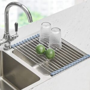 picture of Roll Up Dish Drying Rack, 17.8''x11.8'', Sale