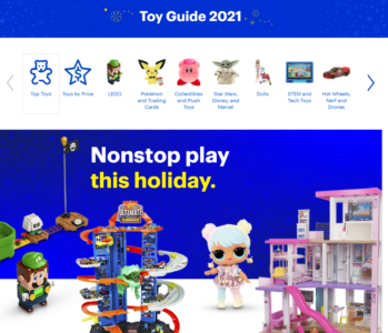 picture of Best Buy Toy Guide 2021