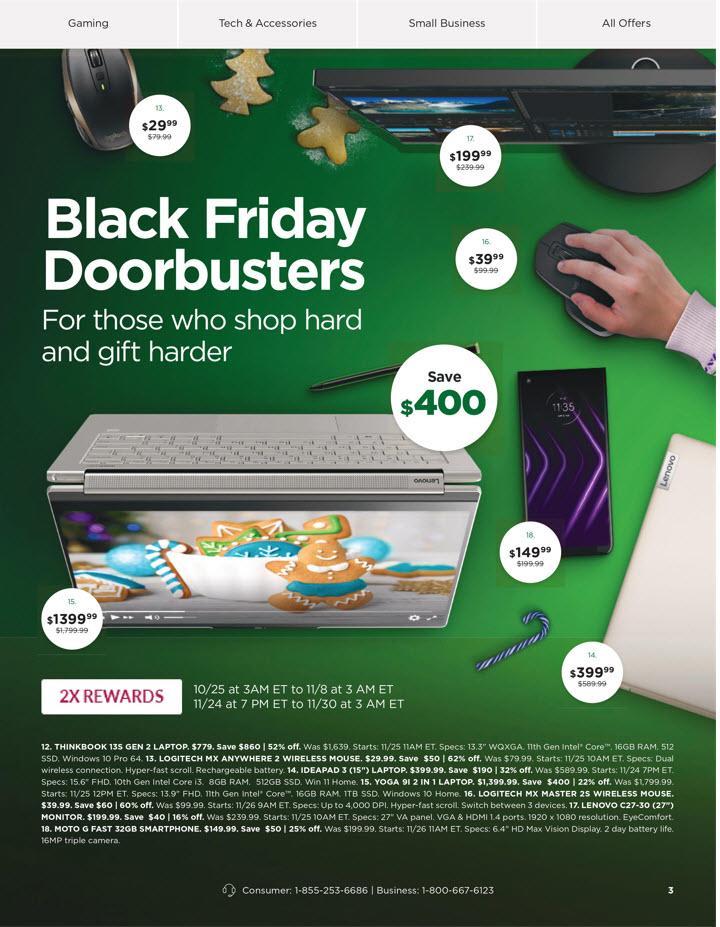 Lenovo Black Friday 2021 Ad