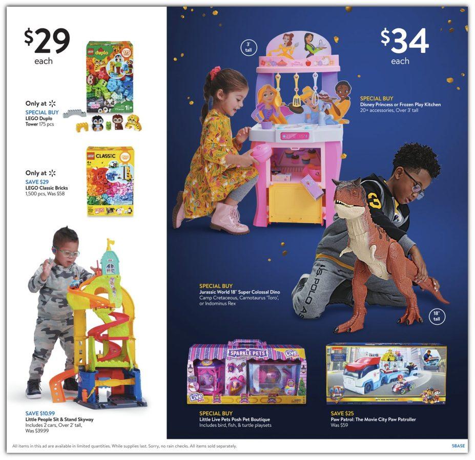 Walmart Black Friday 2021 Ad Scans Event 1 Nov 3