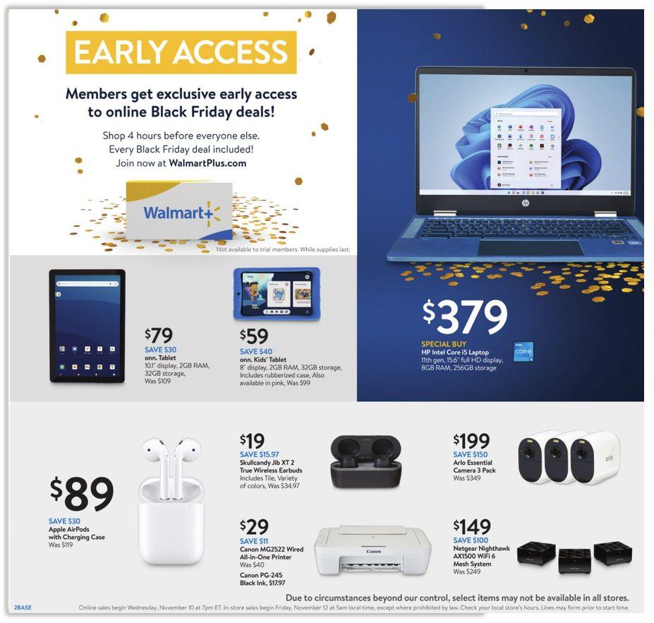 Walmart Black Friday 2021 Ad Scans Event 2 Nov 10