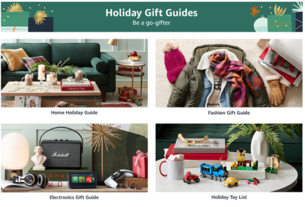 picture of Amazon Holiday Gift Guide 2021