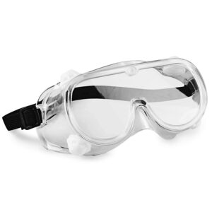 picture of hand2mind 6 Inch Clear Safety Goggles 10pk Sale
