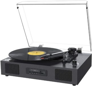 picture of Record Player Bluetooth Turntable with Speaker, USB Sale