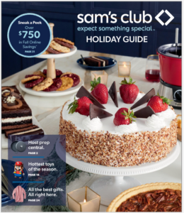 picture of Sam's club Holiday Guide