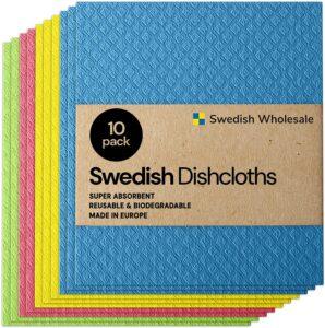 picture of Swedish Wholesale Swedish Dish Cloths 10pk sale
