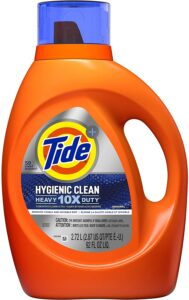 picture of Tide Hygienic Clean Heavy 10x Duty Liquid Laundry Detergent 92oz 59 Loads