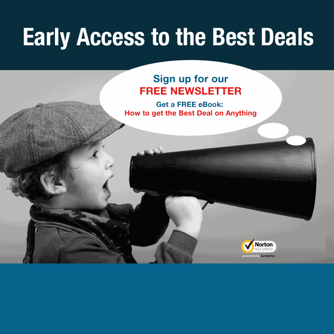 Sign up with BuyVia Newsletter to get the latest deals